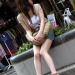 【美脚画像】お姉さんのスラッとした綺麗な脚がエロくて抜ける☆