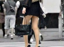 ありえねーくらいエッチな美脚!街中で大胆に露出されたミニスカ娘の街撮り盗撮エロ画像