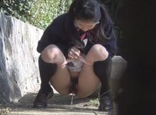 一度でいいから生で見たい!女性が野外で放尿してる姿に興奮がとまらない!