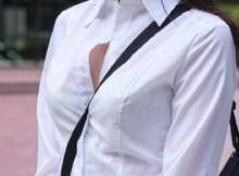 【街撮り盗撮】女はコイツのエロさをまるでわかってないっ!!勃起抑えるのがつらくなるパイスラ画像wwww