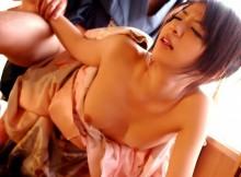 日本が世界に誇る民族衣装【 和服 】の着衣SEX画像から溢れる色っぽさが鬼のように抜けるwww