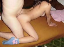 全裸に靴下だけのSEX画像が想像以上に抜けるんでビビったwwww