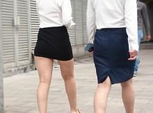 タイトスカートVSパンツスーツ!どちらのOLがエロいのかwww(画像25枚)
