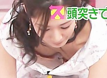 【TVハプニング画像】前屈みになったアイドルや女子アナのまる見えな谷間に思わず勃起しちまったぜwww(画像15枚)
