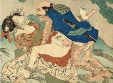 江戸時代の想像力ってすげー!オマイラこれで勃起出来るかよ?江戸時代のエロ本『春画』
