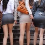 尻のデカいOLさんってエロいよなwwwパツンパツンになったタイトスカートの尻画像