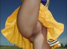もしも、チアガールがパンツを履き忘れたらこんな感じ?wwww(画像15枚)