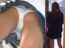 これが高校生の残尿ww制服高校生の逆さ撮り盗撮でシミを発見した時の興奮が異常なんだがww(画像15枚)