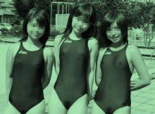 ピチピチの競泳水着を赤外線カメラで撮影したら…犯罪レベルのエロさなんだがww