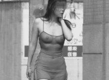規制前に発売されていた赤外線カメラの性能がすげーwww街撮りしたらヤバいくらい透けてるwww