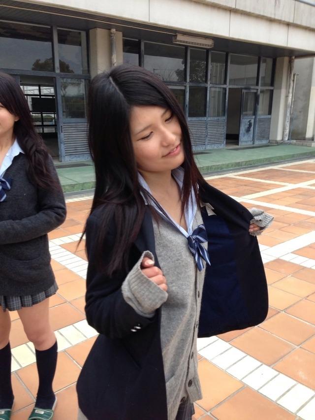 【JKおふざけエロ画像】下品すぎてワロタwwwこれがゆとり世代の女子高生かよwww その2