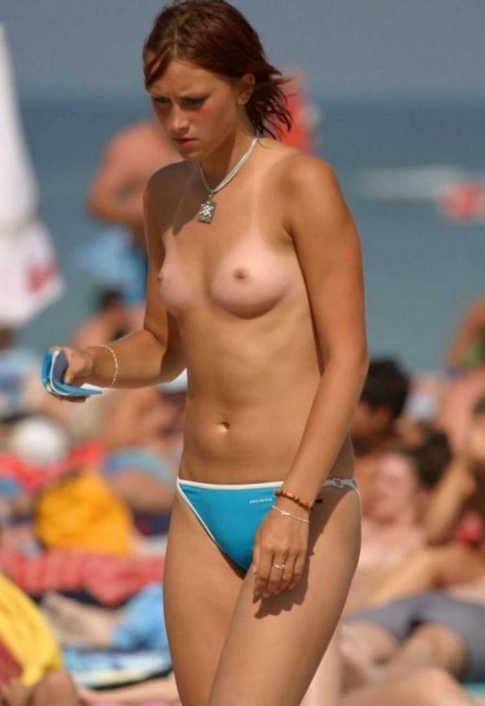 まだ子供ちゃうの?幼く見える女の子も裸なヌーディストビーチがやべぇwww その12