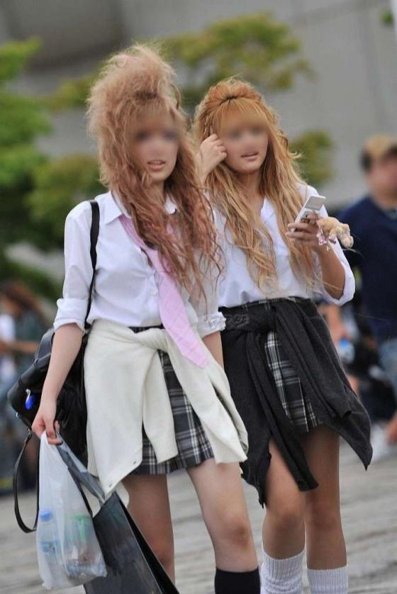 【ビッチJKエロ画像】100%非処女!とっくに膜は貫通済みな女子高生…見てるだけでチンポがビンビンですよwww その14