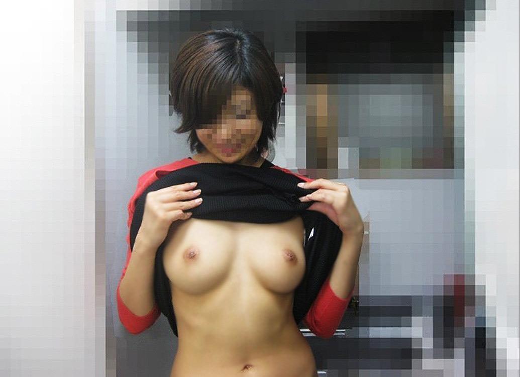【リベンジポルノエロ画像】彼女のこんなエッチな姿撮れたら俺でもネットに晒すわwww その12