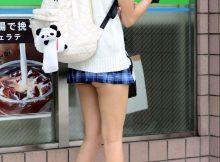 【街撮りJKエロ画像】すげーぴちぴち!見境なくしゃぶりつきなくなる現役女子高生の太ももがエロ過ぎて理性崩壊するwww