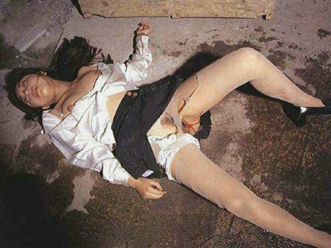 これが本物のヤリ捨て女wwwwwwレ●プ被害に遭った女の事後がアウト過ぎるwwwwwwww