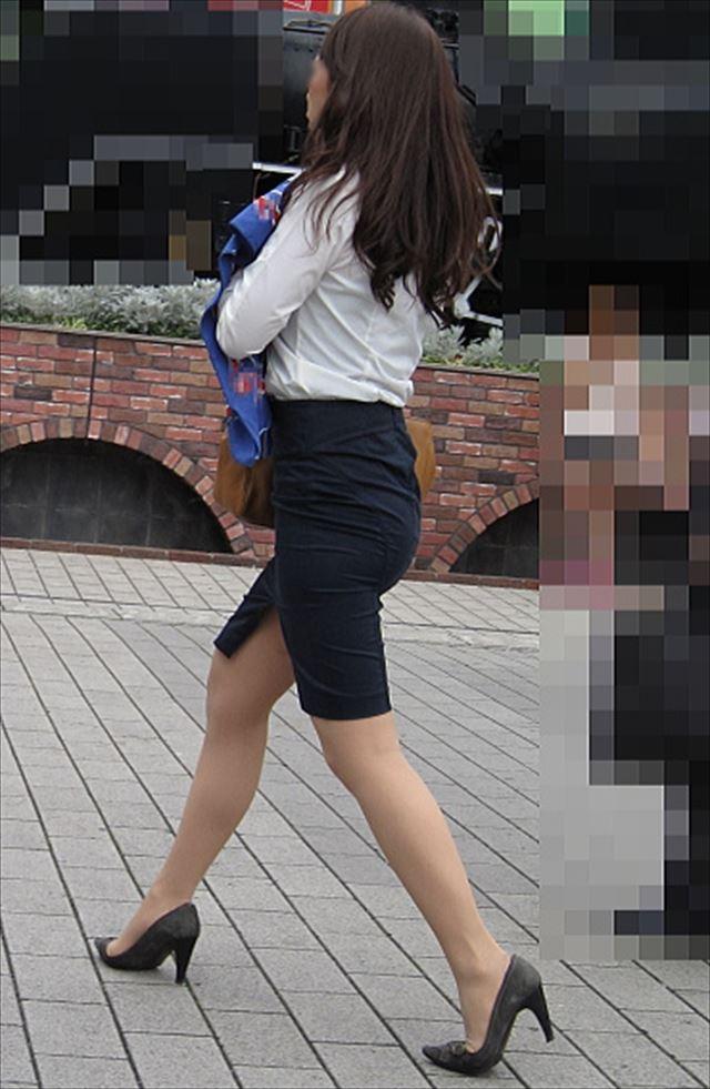 【タイトスカートエロ画像】脚の綺麗なOLさんのタイトスカートがヤバいwwwこんなんレイプしてしまいそうwww その8