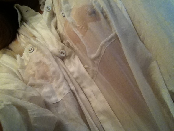 【濡れシャツエロ画像】濡れたシャツで透ける乳首が全裸より興奮すること証明してやるwwww その3