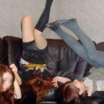 【女子会エロ画像】破廉恥極まりないリア充の女子会がコレ…酔っぱらった素人娘のおふざけエロ画像が酷すぎるwww