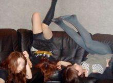 破廉恥極まりないリア充の女子会がコレ…酔っぱらった素人娘のおふざけエロ画像が酷すぎるwww