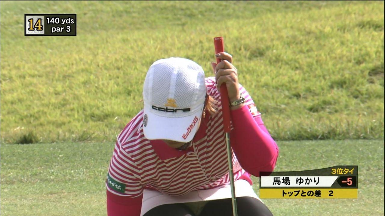 【女子ゴルフエロ画像】どうせアンスコだろ?それでも興奮する女子プロゴルファーの股間!鍛えられた太ももがエロいぜぇwww その12
