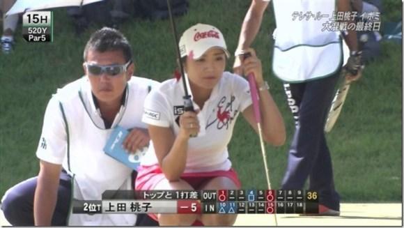 【女子ゴルフエロ画像】どうせアンスコだろ?それでも興奮する女子プロゴルファーの股間!鍛えられた太ももがエロいぜぇwww その13