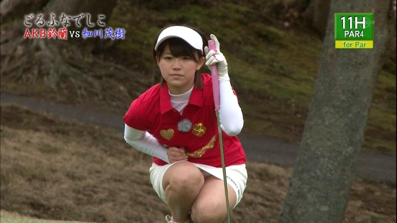 【女子ゴルフエロ画像】どうせアンスコだろ?それでも興奮する女子プロゴルファーの股間!鍛えられた太ももがエロいぜぇwww その16