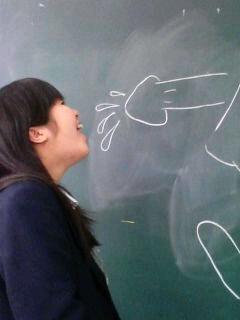 【JKおふざけエロ画像】今どきの女子高生は頭の中チンポで溢れてる!?SNSで全世界に晒す疑似フェラwwww その13