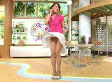 【女子アナパンチラエロ画像】もはやキャバ嬢並!?テレビの前で破廉恥なパンチラ披露する女子アナさんwwww