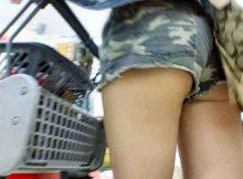 【ショーパンハミ尻エロ画像】スゲー尻だなぁwwwゾクゾクするほどそそるショーパン娘のハミ尻!痴女レベルで露出してる街撮り画像www