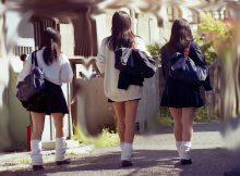 なぜか妙な色気を感じる通学中の女子●生…なんでこんなにチンポがビンビンになるんだよwwww
