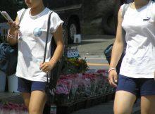 【ハーフジャージエロ画像】女子高生の短パンタイプのジャージ体操服って意外とそそるじゃんwwww
