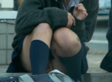 【街撮りJKエロ画像】健康的でむちむち…女子高生の太ももが神すぎるwwww