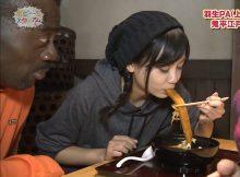 【芸能人擬似フェラエロ画像】これは茶の間でおとーさんもガン見!食レポと言う名のフェラ顔を披露する芸能人
