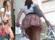 """<span class=""""title"""">女の子の卑猥な下半身がまる見え…見上げるアングルが興奮する階段パンチラエロ画像</span>"""