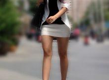 【街撮りタイトスカート】タイトミニのお姉さんは男を挑発してるとしか思えない街撮りがこちら!