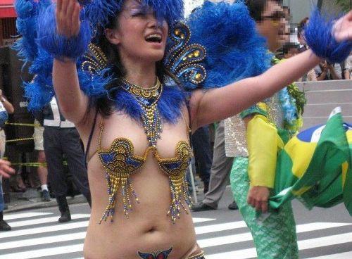 アダルト画像3次元 - 【サンバカーニバル】いつかぽろりするはず!!日本のサンバカーニバルも過激すぎて目が離せない!!!!