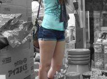 盗撮被写体に最高な太めな太ももエロ画像!大根足の女子は最高ですwww