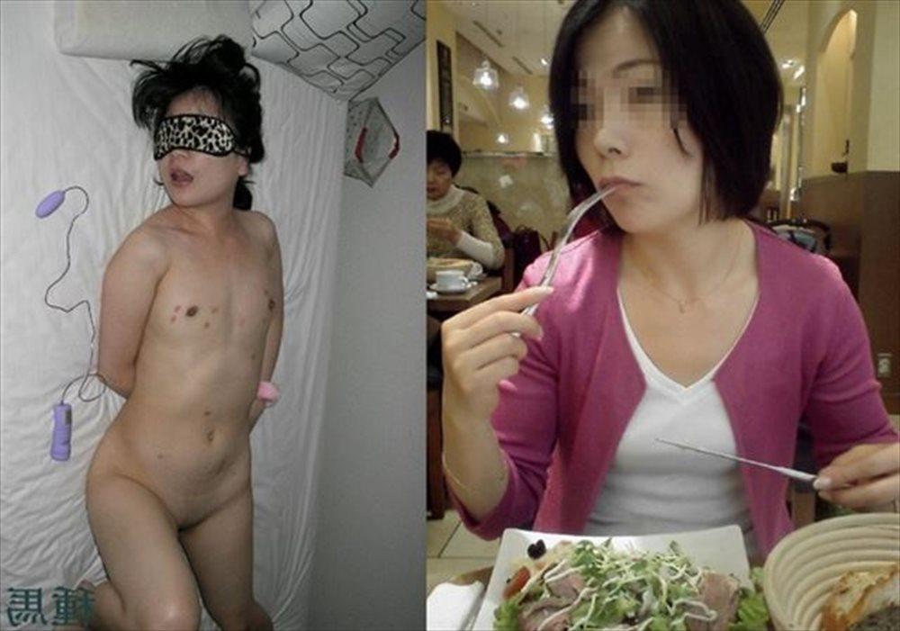 人妻さんのリアル不倫!?普段着と裸を見比べられるエ□画像がめっさ抜けるwwww