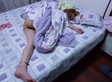 【家庭内盗撮エロ画像】ゴールデンウィークをだらしなく寝て過ごす嫁さんの家庭内盗撮画像が超卑猥www