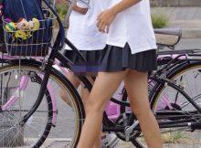 【ミニスカJK街撮り画像】やっぱり女子高生のスカートは短いほうがいいです!!男なら誰もがそう答える街撮り画像