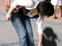 子連れママンの破廉恥ハプニング画像
