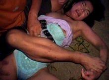 【レ●プ画像】女性を力づくで征服する…性的乱暴したくなってくるレ●プ画像に●起がとまらないwww