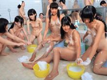 動ナビ 【ロリ】 銭湯の女湯を撮影した結果・・・まだ未発達な身体の女の子の姿が…