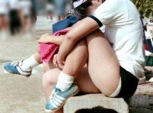 【ブルマエロ画像】普通の人は勃起しない…してはいけないブルマフェチ!?幼い少女のブルマ姿がやばいwww