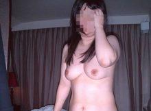 【熟女エロ画像】崩れはじめた体型がなんともそそるっ!!リアルな素人熟女の裸体…不倫相手に暴露された流出画像