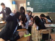 【JK学校内盗撮画像】同級生目線で撮られた女子高生のリアルな学校生活!若いって素晴らしいなぁwww