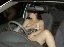 【車内オナニー画像】家じゃ味わえないスリル…誰かに見られるかもわからない車で自慰行為!ドスケベ娘が癖になる車内オナニー画像