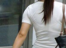 【透けブラエロ画像】素人の女の子がブラジャー透け透け!!プライベートな下着なのにまる見え…痴女レベルの透けブラ画像