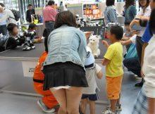 【ミニスカパンチラ画像】マンガみたいだけど本当にあったパンチラ…スカート短すぎて下着が見えちゃってる常時パンチラ娘www